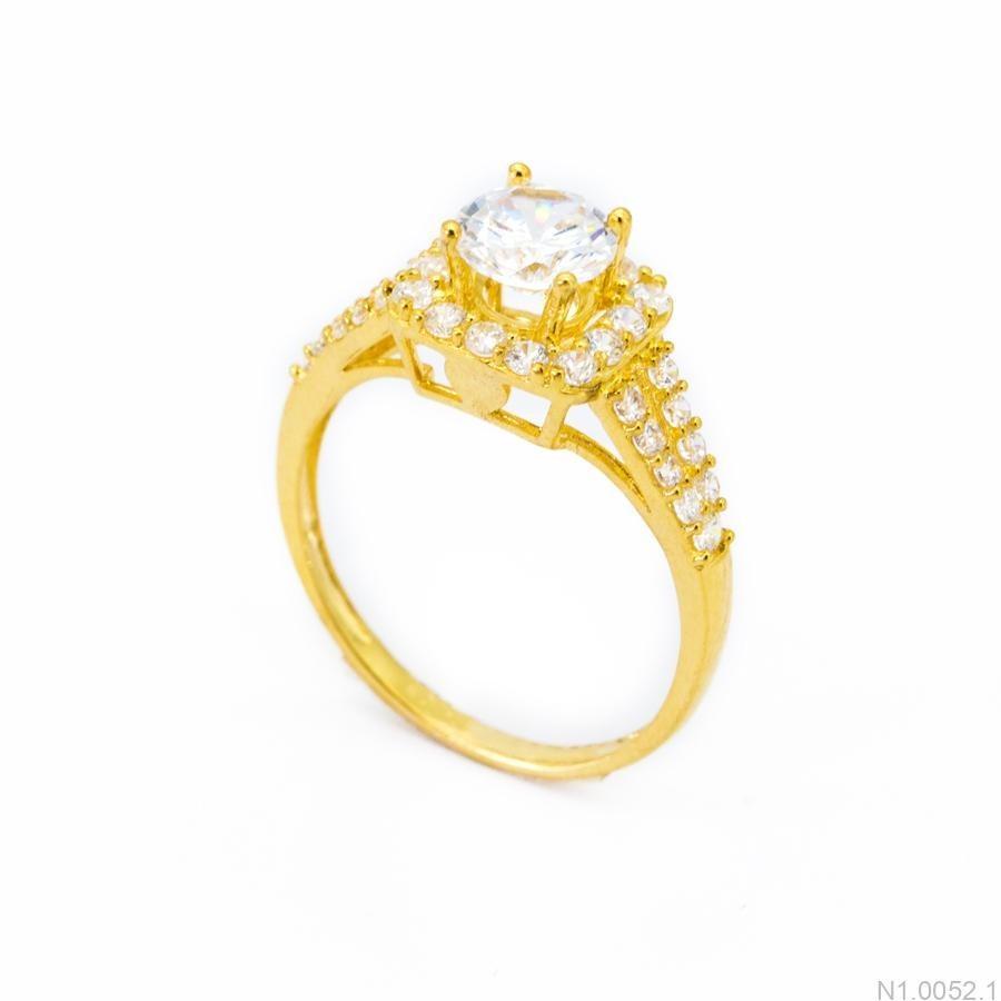 Nhẫn Kiểu Nữ APJ Vàng 18k - N1.0052.1
