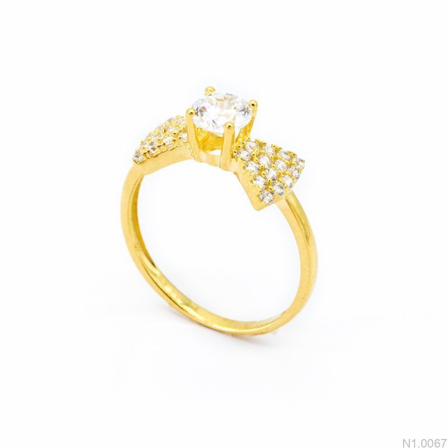 Nhẫn Kiểu Nữ Vàng 18k - N1.0067