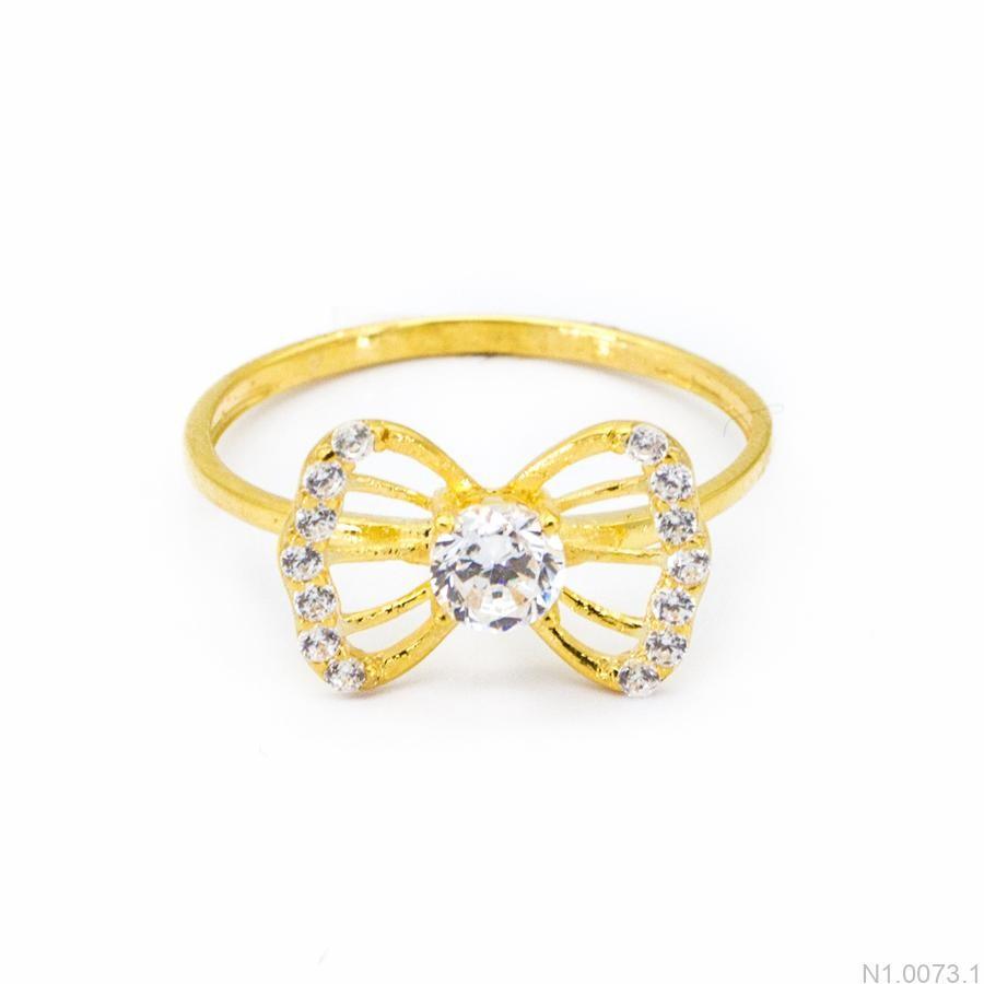 Nhẫn Kiểu Nữ Vàng 18k - N1.0073.1