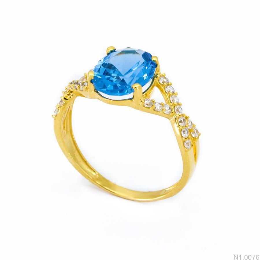 Nhẫn Kiểu Nữ Vàng 18k - N1.0076
