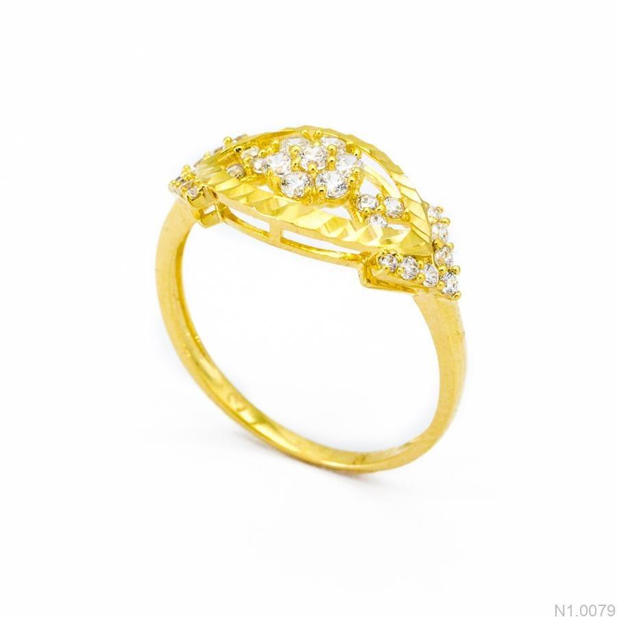 Nhẫn Kiểu Nữ Vàng 18k - N1.0079