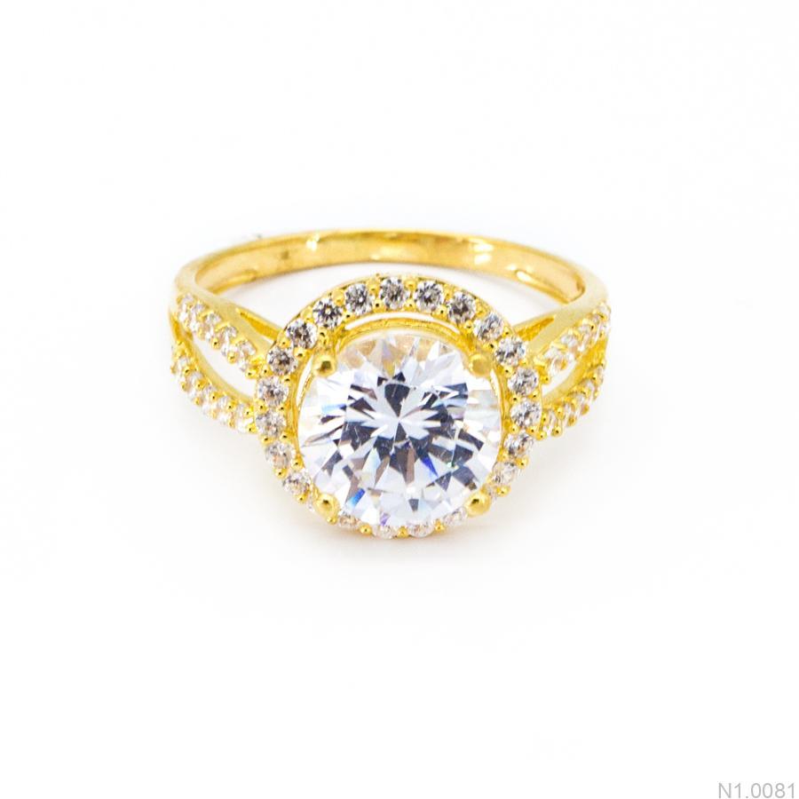 Nhẫn Kiểu Nữ Vàng 18k - N1.0081