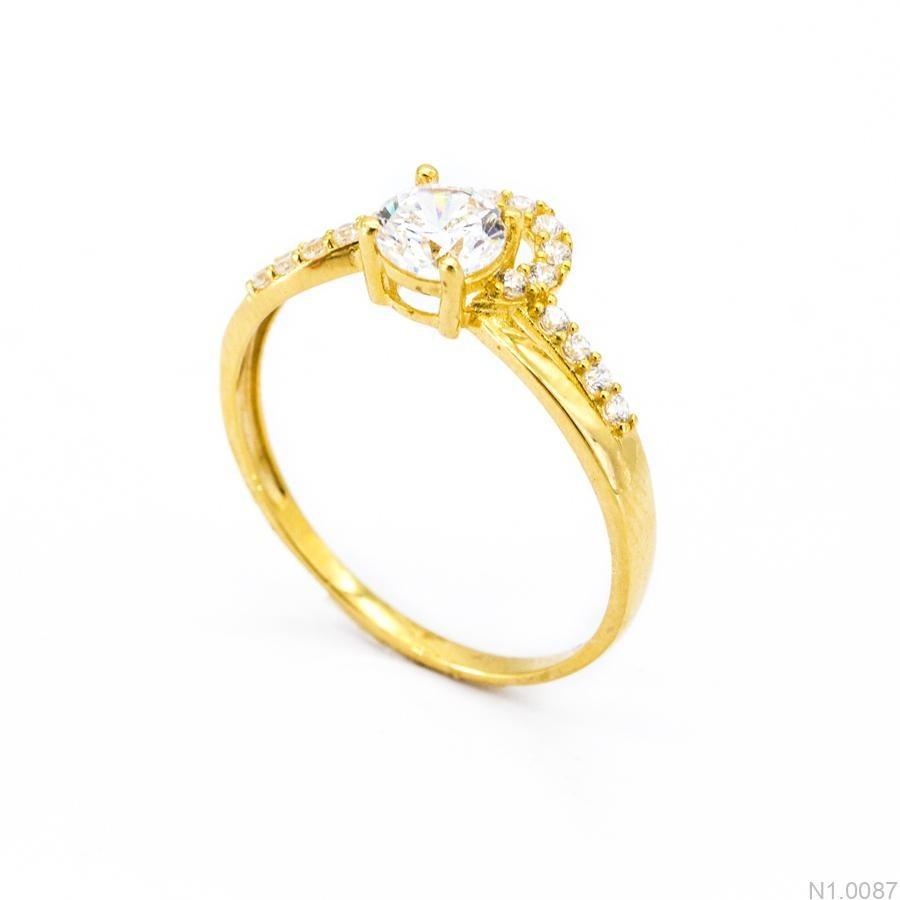 Nhẫn Kiểu Nữ Vàng 18k - N1.0087