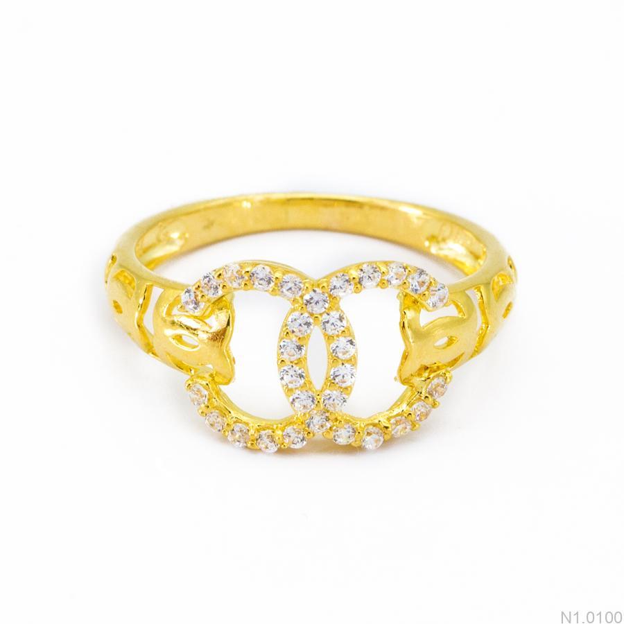 Nhẫn Kiểu Nữ Vàng 18k - N1.0100