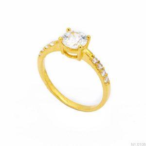 Nhẫn Nữ Vàng 18K Đính Đá CZ - N1.0105