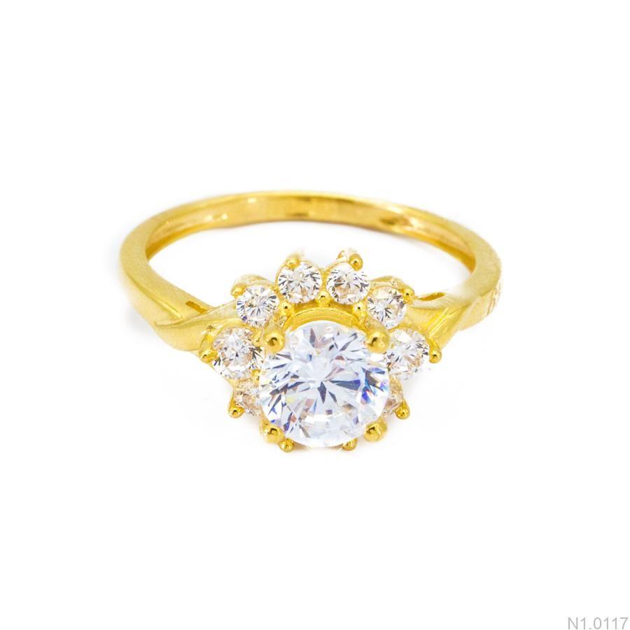 Nhẫn Kiểu Nữ APJ Vàng 18k - N1.0117