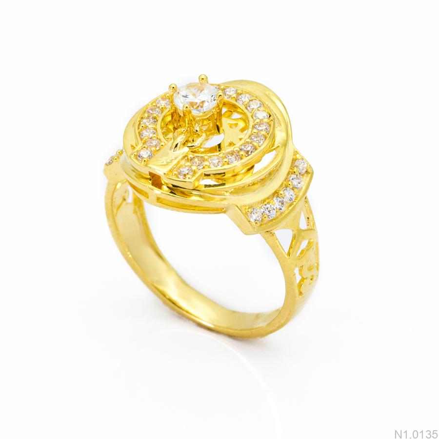 Nhẫn Kiểu Nữ APJ Vàng 18k - N1.0135
