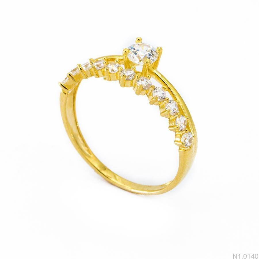 Nhẫn Kiểu Nữ Vàng 18k - N1.0140