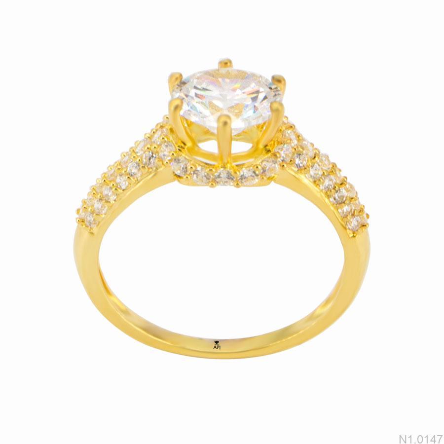 Nhẫn Kiểu Nữ APJ Vàng 18k - N1.0147