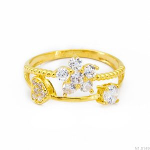 Nhẫn Kiểu Nữ APJ Vàng 18k - N1.0149