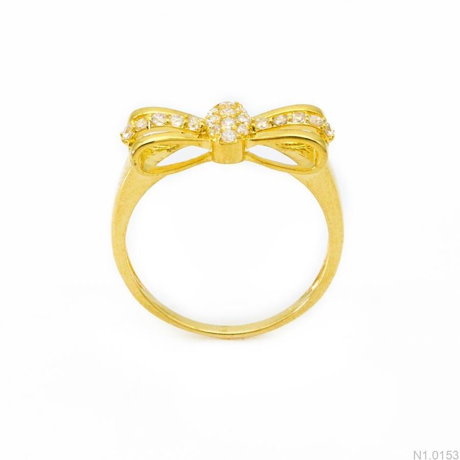 Nhẫn Kiểu Nữ APJ Vàng 18k - N1.0153