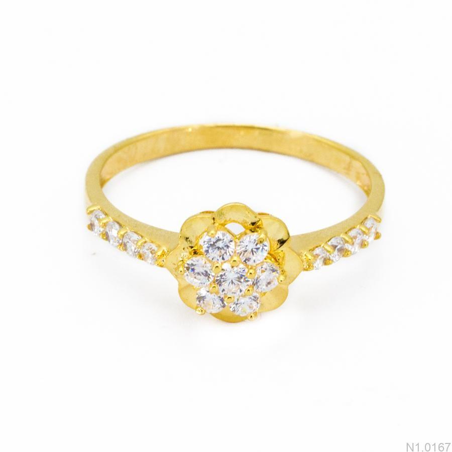 Nhẫn Kiểu Nữ Vàng 18k - N1.0167