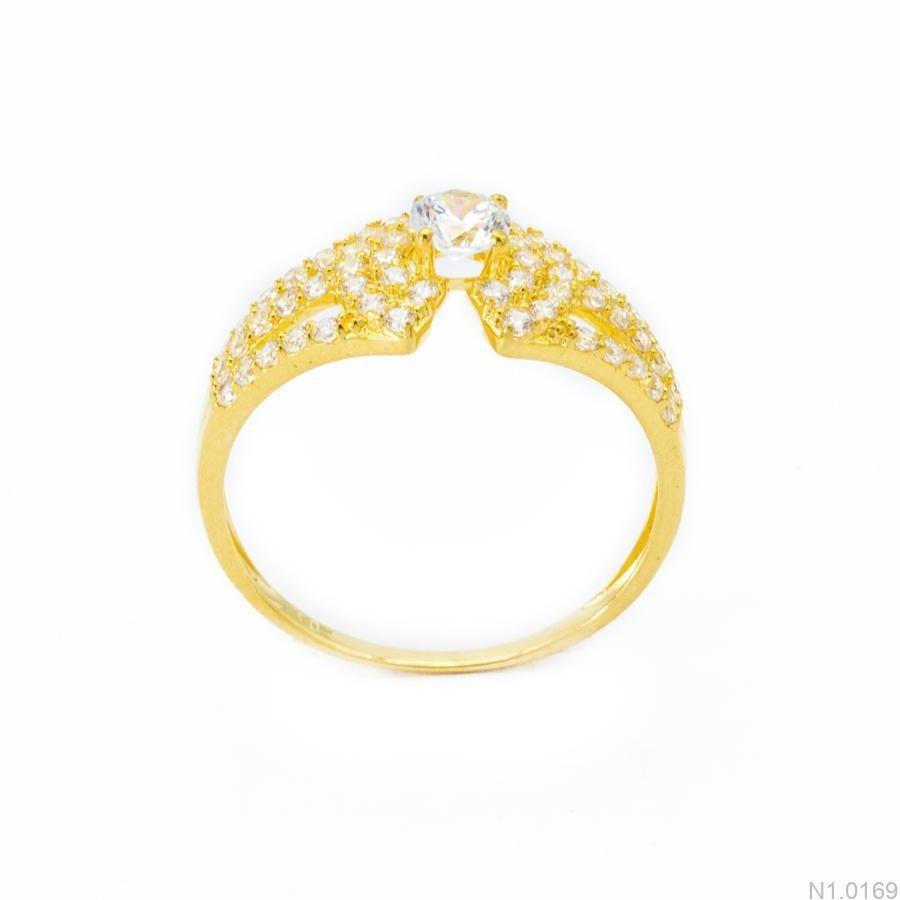 Nhẫn Kiểu Nữ APJ Vàng 18k - N1.0169