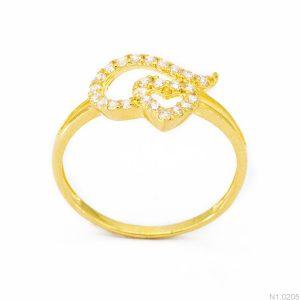 Nhẫn Kiểu Nữ APJ Vàng 18k - N1.0205