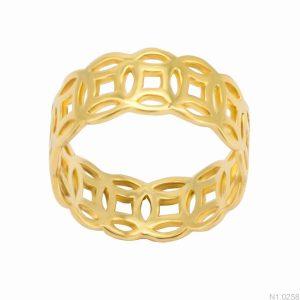 Nhẫn Nữ Kim Tiền APJ Vàng 18k - N1.0258