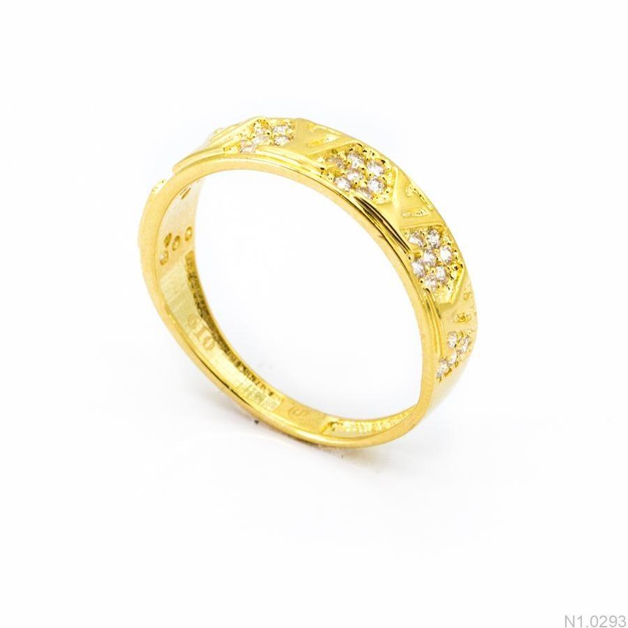 Nhẫn Kiểu Nữ APJ Vàng 18k - N1.0293