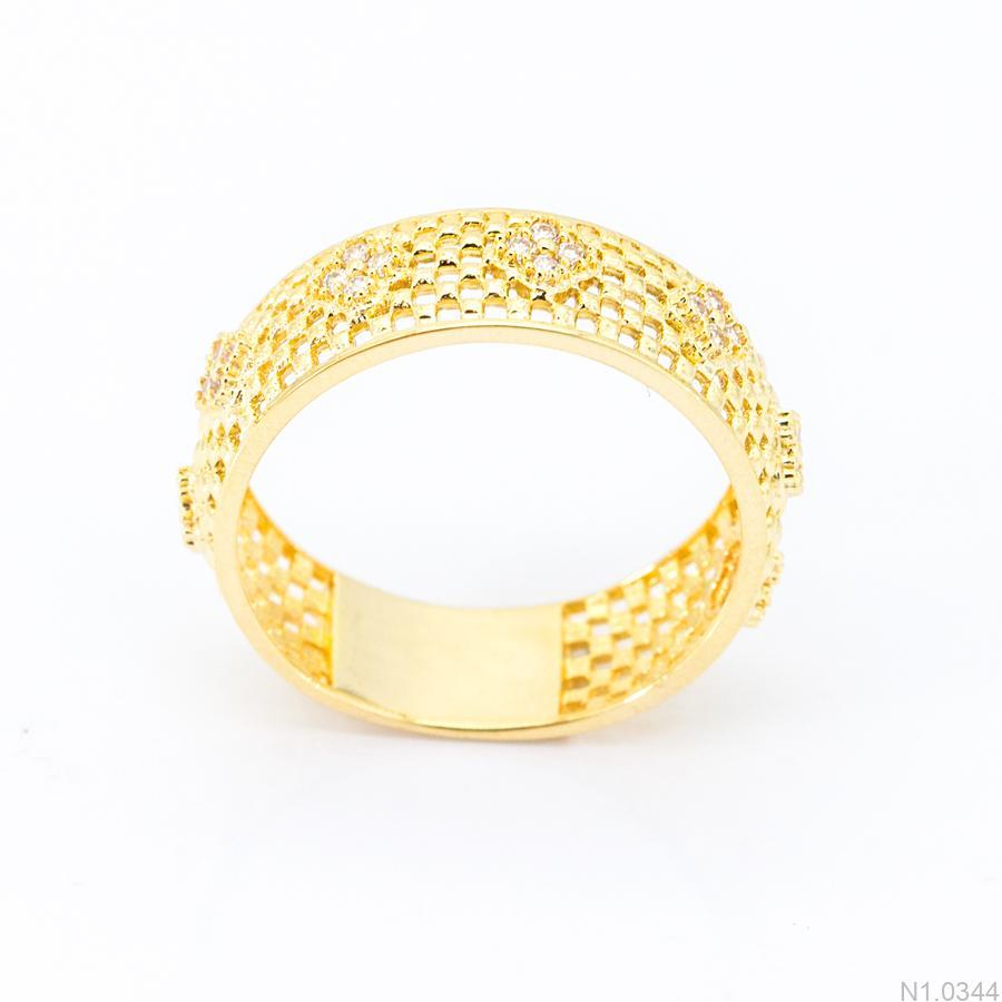 Nhẫn Kiểu Nữ APJ Vàng 18k - N1.0344