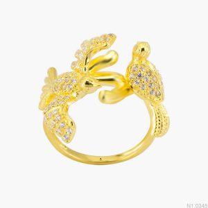 Nhẫn Kiểu Nữ APJ Vàng 18k - N1.0345