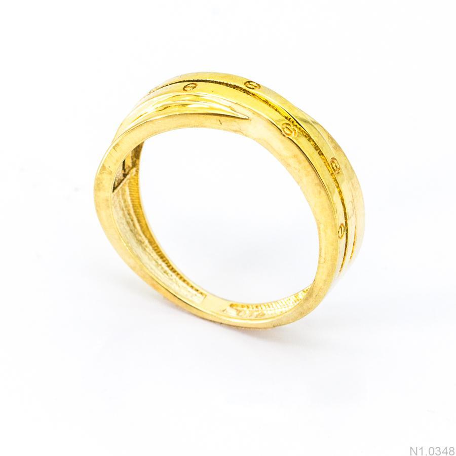 Nhẫn Kiểu Nữ APJ Vàng 18k - N1.0348