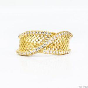 Nhẫn Kiểu Nữ APJ Vàng 18k - N1.0360