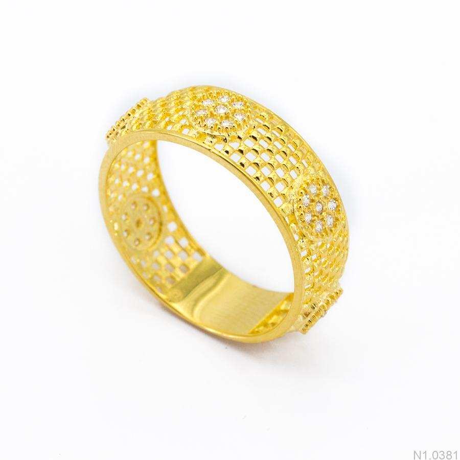 Nhẫn Nữ Vàng 18k - N1.0381