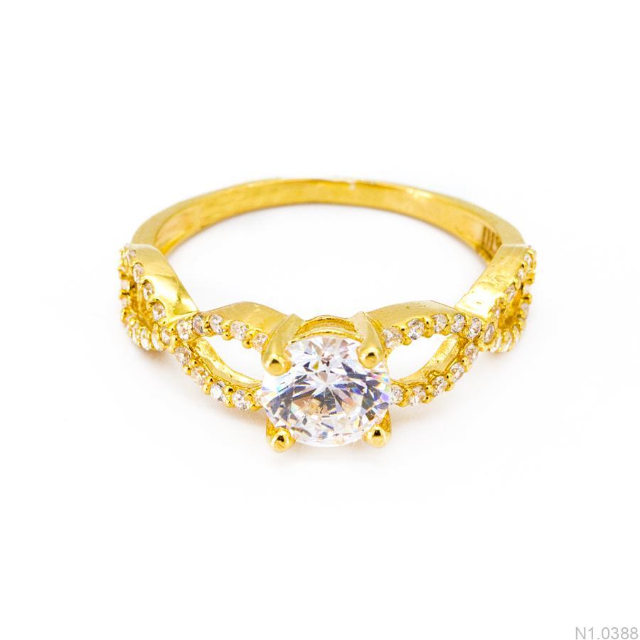 Nhẫn Kiểu Nữ Vàng 18k - N1.0388