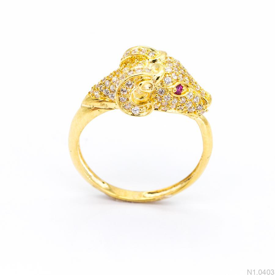 Nhẫn Kiểu Nữ APJ Vàng 18k - N1.0403