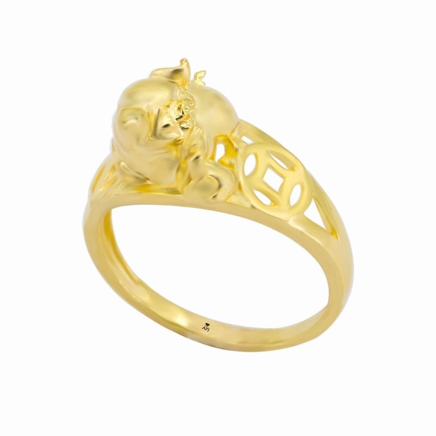 Nhẫn Kiểu Nữ APJ Vàng 18k - N1.0509
