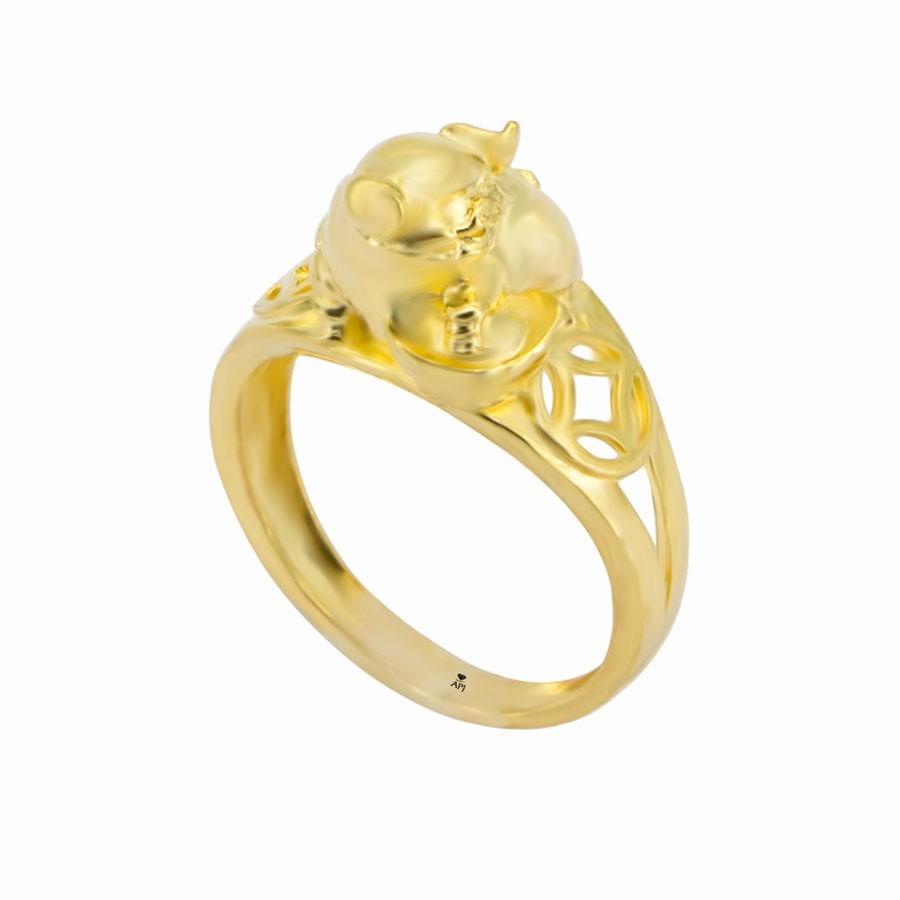 Nhẫn Kiểu Nữ APJ Vàng 18k - N1.0510