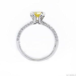 Nhẫn Nữ Vàng Trắng 10K Đính Đá CZ - N1.0530-2