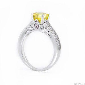Nhẫn Nữ Vàng Trắng 10K Đính Đá CZ - N1.0531-2