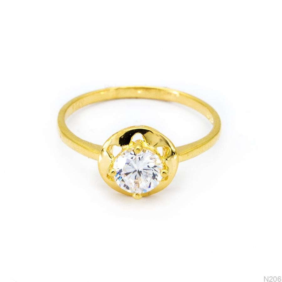 Nhẫn Kiểu Nữ Vàng 18k - N206