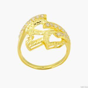 Nhẫn Kiểu Nữ APJ Vàng 18k - NB184