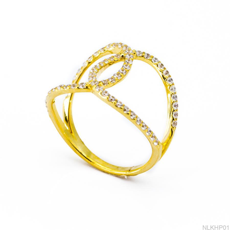 Nhẫn Kiểu Nữ Vàng 18k - NLKHP01