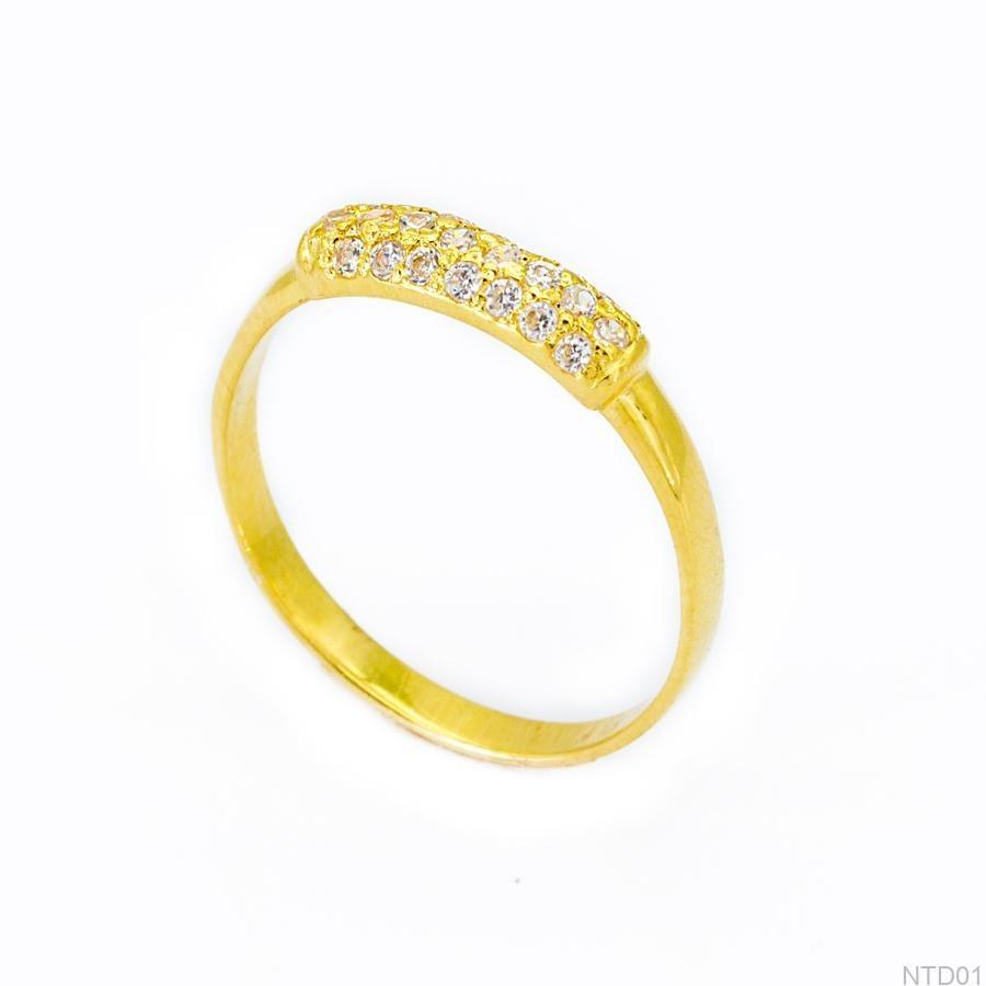 Nhẫn Kiểu Nữ Vàng 18k - NTD01