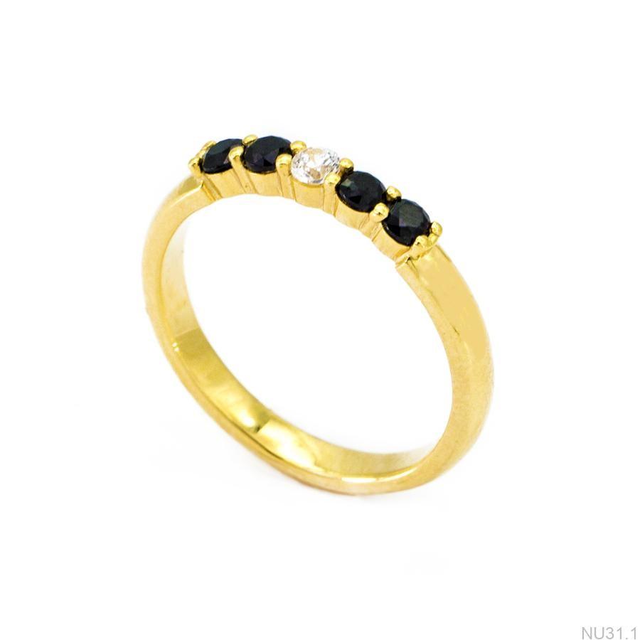 Nhẫn Kiểu Nữ Vàng 18k - NU31.1