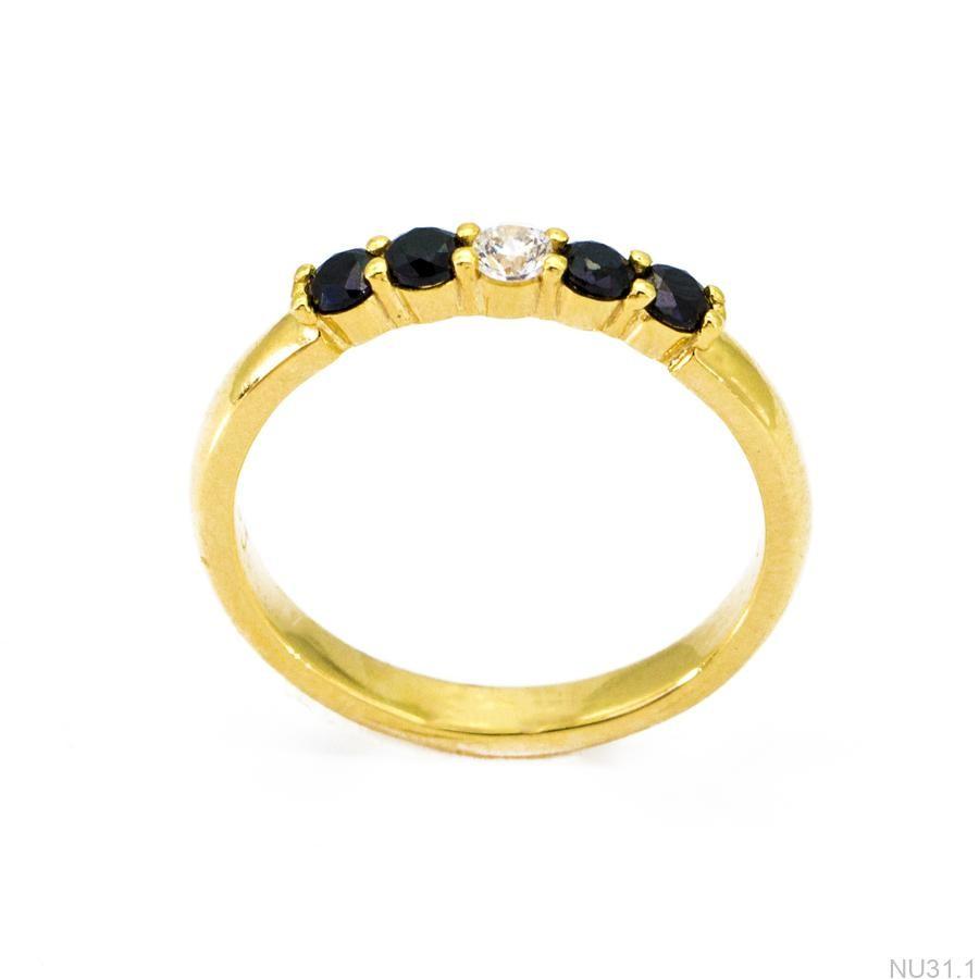 Nhẫn Nữ Vàng 18K Đính Đá CZ - NU31.1