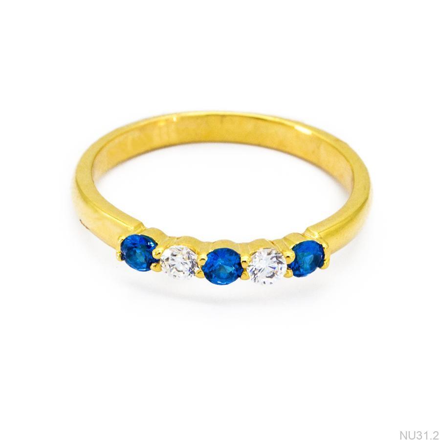 Nhẫn Kiểu Nữ Vàng 18k - NU31.2