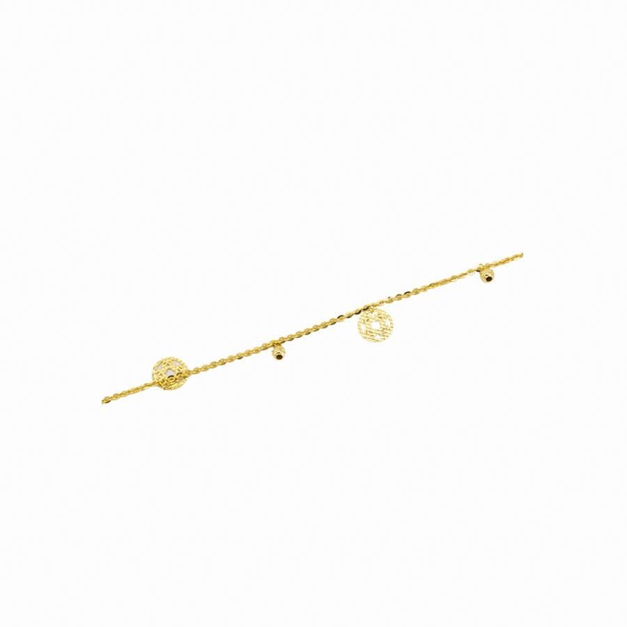 Lắc Chân APJ Vàng 18k - PLC017