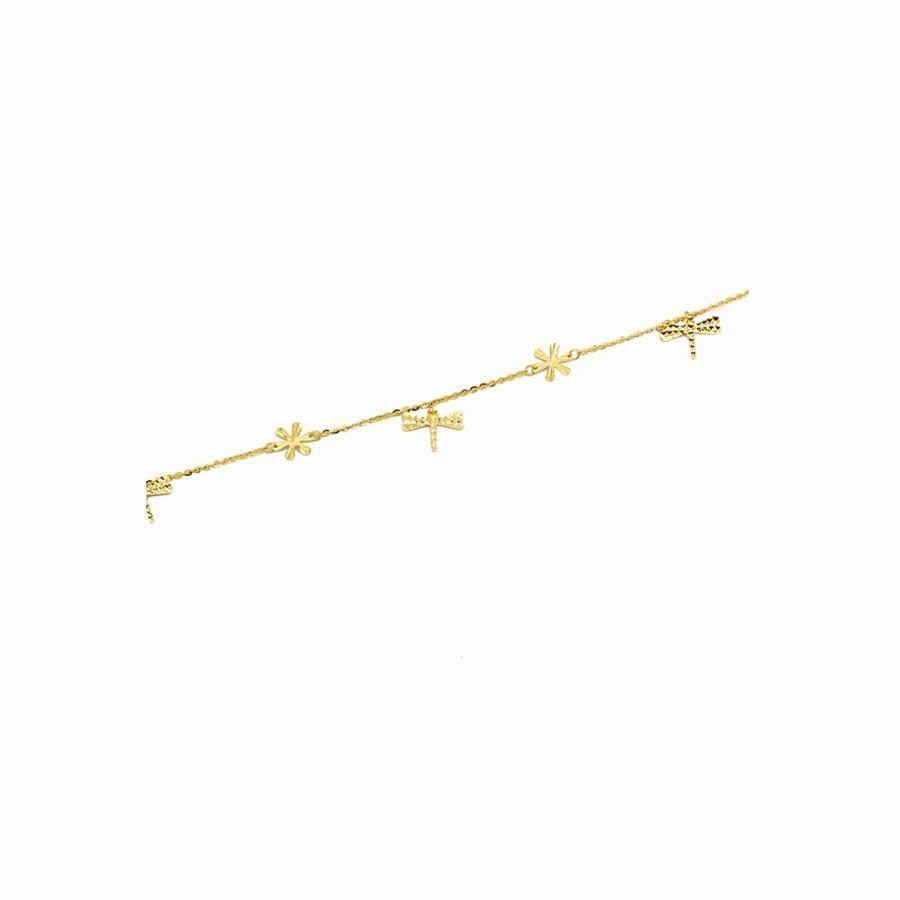 Lắc Chân APJ Vàng 18k - PLC019