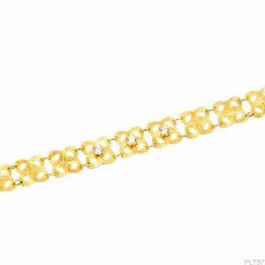 Lắc Tay Vàng 18k Đính Đá CZ - PLT57