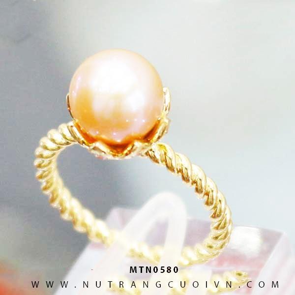 Nhẫn Kiểu Nữ APJ Vàng 18k - MTN0580