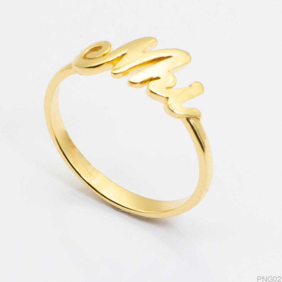 Nhẫn Kiểu Nữ APJ Vàng 18k - PNG02