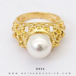 Nhẫn Nữ Ngọc Trai Vàng 18k - N856