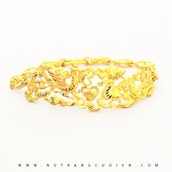 Lắc Tay Vàng APJ Vàng 24k - KLTDHT16V