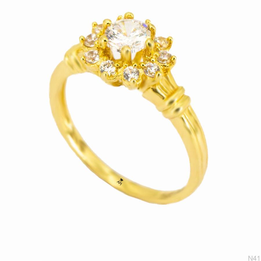 Nhẫn Kiểu Nữ APJ Vàng 18k - N41