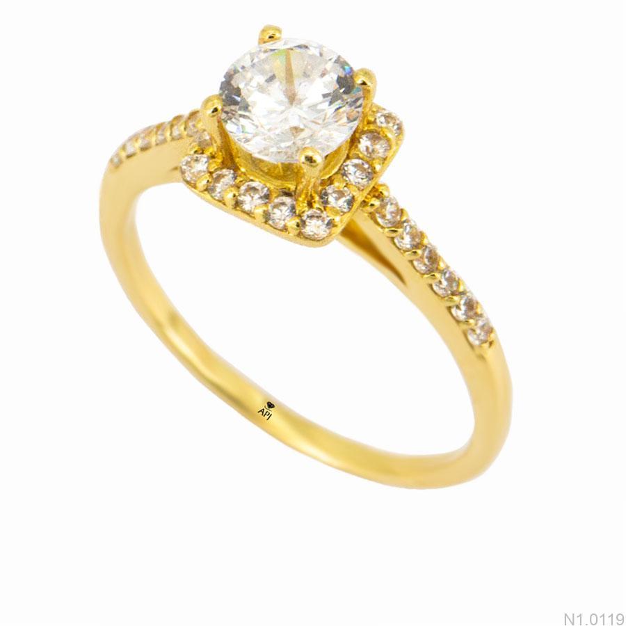 Nhẫn Kiểu Nữ APJ Vàng 18k - N1.0119
