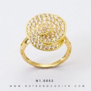 Nhẫn Kiểu Nữ Vàng 18k - N1.0053