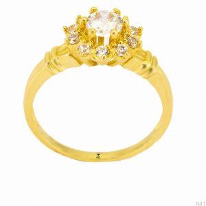 Nhẫn Kiểu Nữ APJ Vàng Trắng 18K - N41