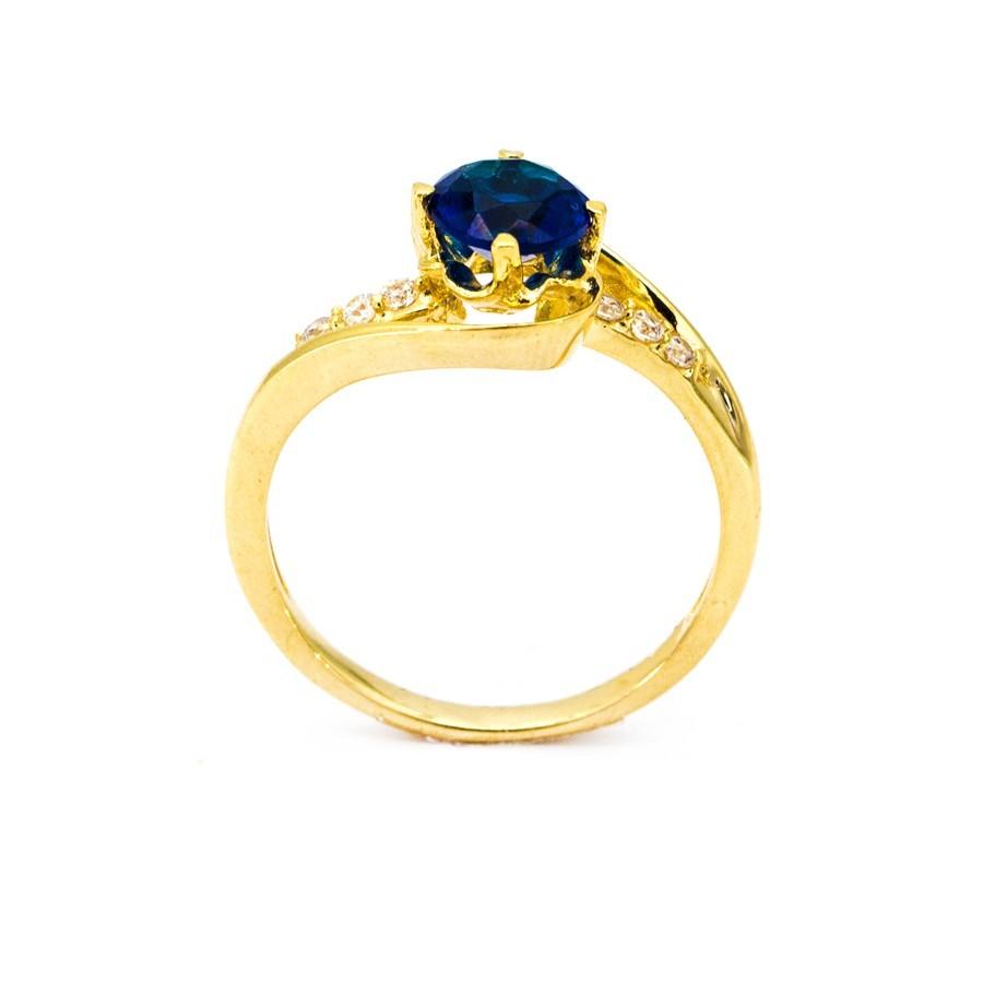 Nhẫn Nữ Vàng 18k Đính Đá CZ - N3463-5